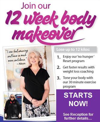 12 week makeover
